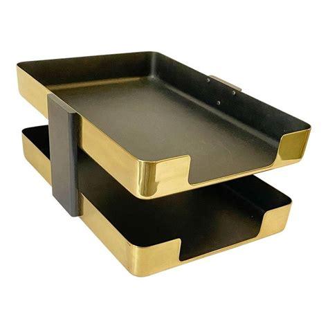 Brass Brass Letter Tray.