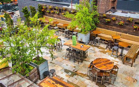 Brass Brass Monkey Rooftop Bar.