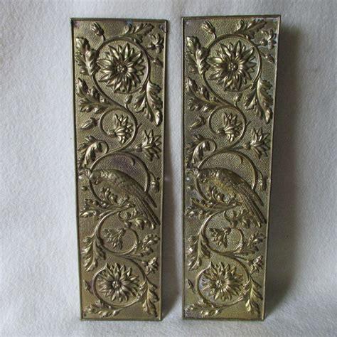 Brass Brass Push Plates For Doors Antique.