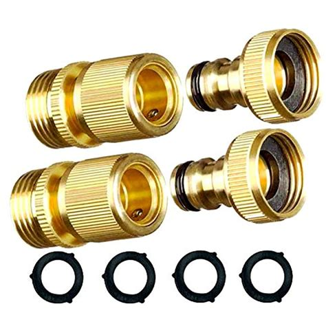 Brass Brass Quick Tee Adapters.