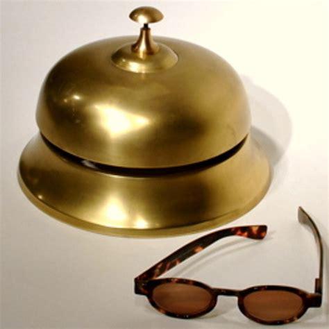 Brass Brass Reception Bell.