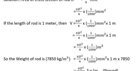 Brass Brass Rod Weight Calculation Formula.
