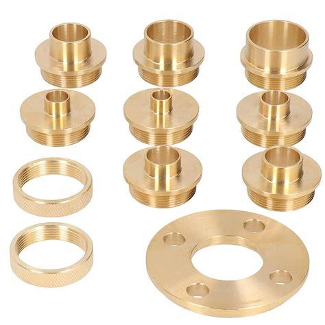Brass Brass Router Template Guide Set.