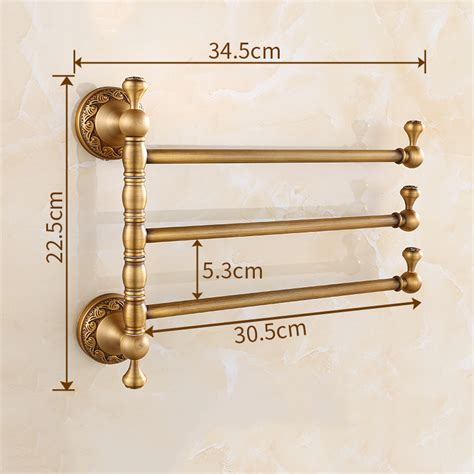 Brass Brass Towel Holder.
