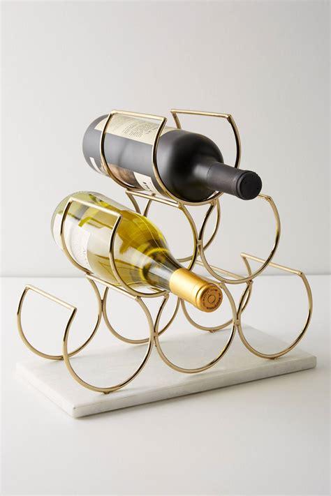 Brass Brass Wine Rack.