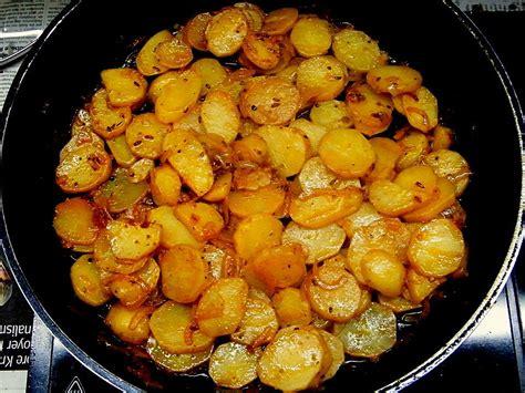 Bratkartoffeln Rohe Kartoffeln