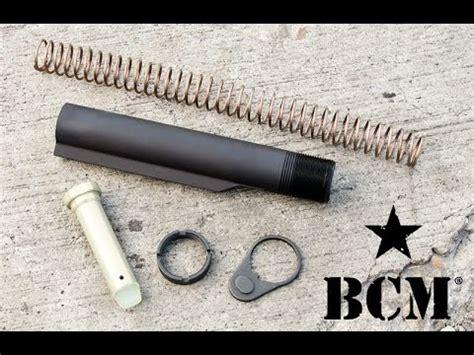Gunkeyword Bravo Company Pistol Buffer Kit.