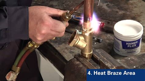 Brass Brazing Copper To Brass Hvac.