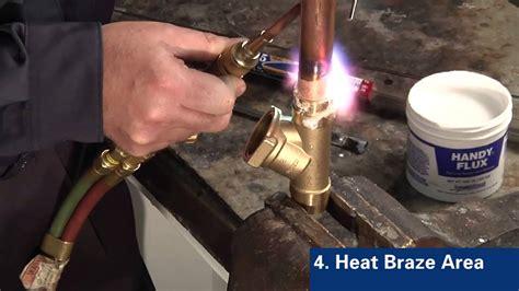 Brass Brazing Copper To Brass Problems.