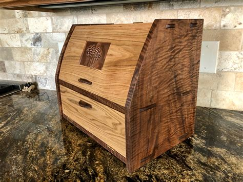 Bread Box Woodworking Plans Free