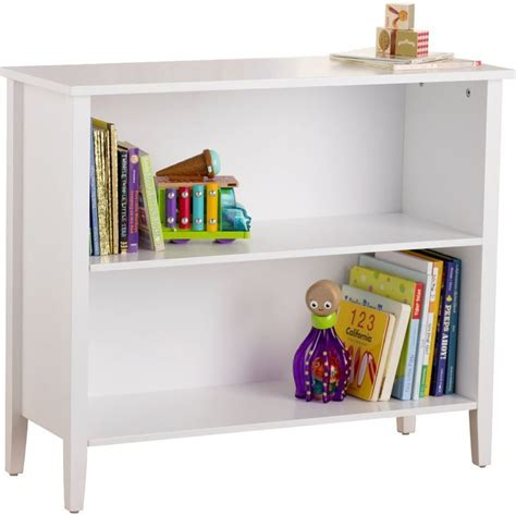 Brennan 2-Tier Standard Bookcase