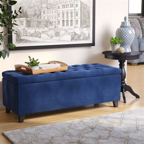 Bretton Upholstered Storage Bench