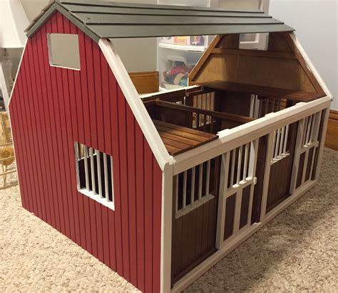 Breyer Horse Barn Plans