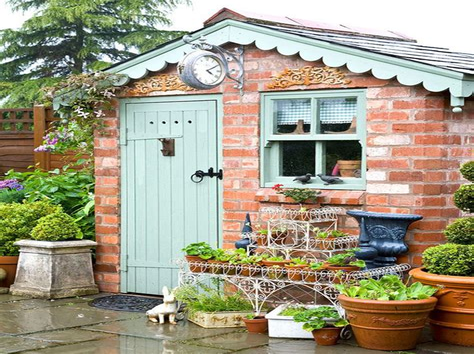 Brick Garden Sheds