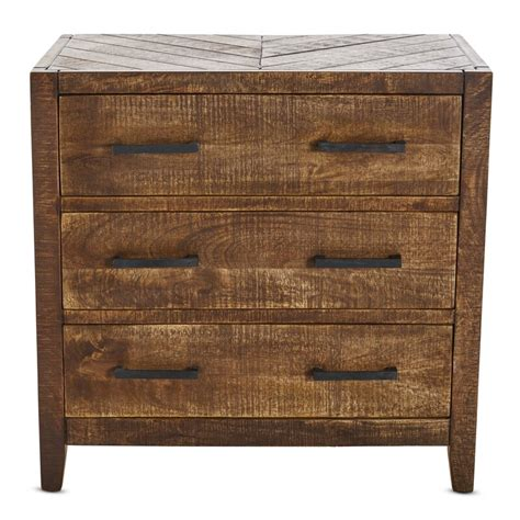 Brimfield Wooden 3 Drawer Accent Chest