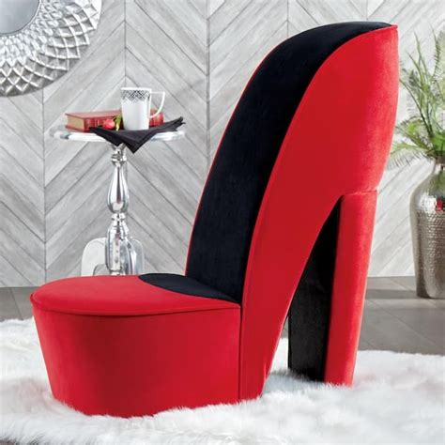 Brittany High Heels Storage Lounge Chair