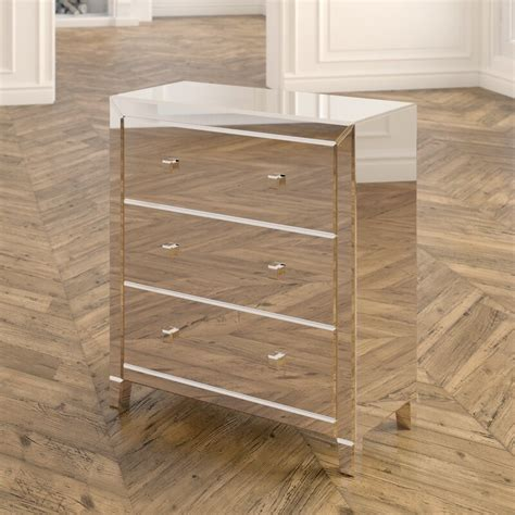 Broadbent 3 Drawer Accent Chest