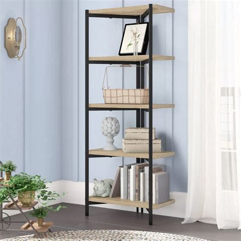 Bronson Etagere Bookcase