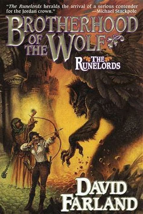 Read Books Brotherhood of the Wolf (Runelords, #2) Online