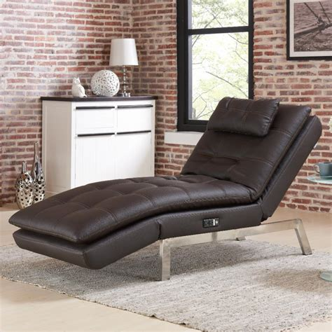 Brown Chaise Lounge  Ebay.