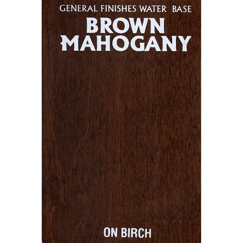 Brown Mahogany Stain