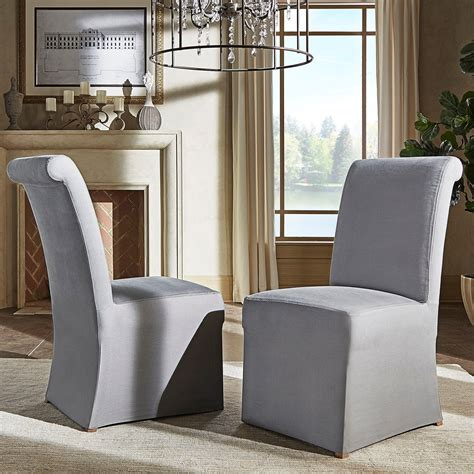 Brune Slipcover Parsons Chair (Set of 2)