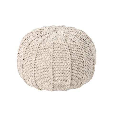 Bryant Maag Knitted Pouf