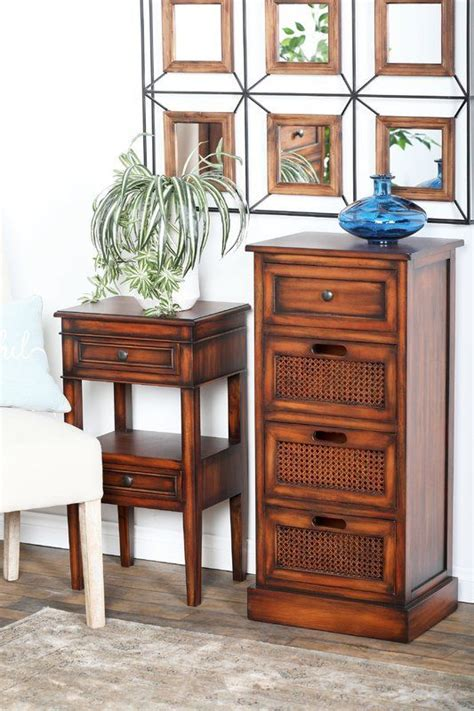 Bryce Rustic 3 Drawer Accent Chest