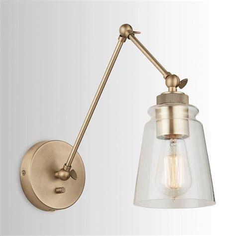 Brycen 1-Light Swing Arm Lamp