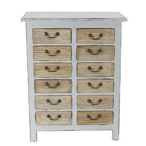 Bucksport Rustic Mahogany 12 Drawer Accent Chest