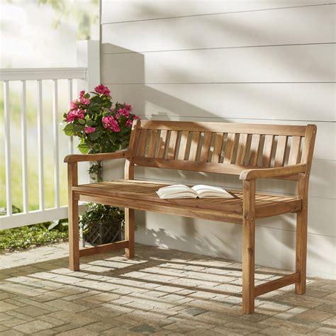 Bucksport Wood Garden Bench