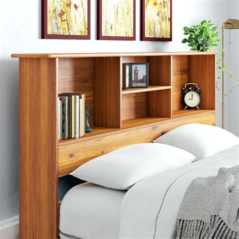 build bookshelve headboard