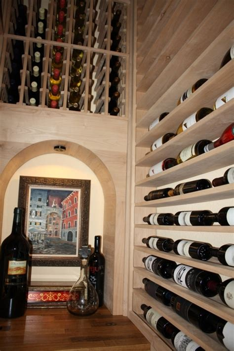 build closet wine cellar houston