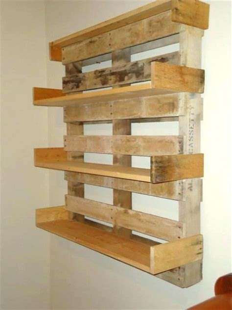 build shelf out of pallets