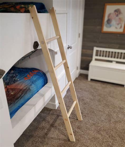 Build A Bunk Bed Ladder