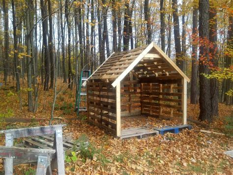 Build A Shed With Pallets