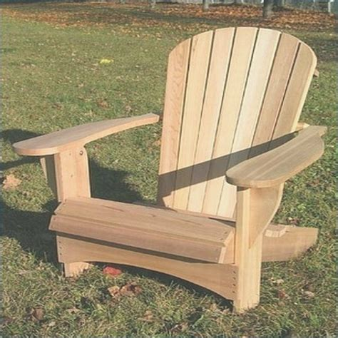 Build Your Own Adirondack Chair Kit