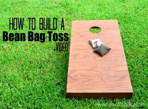Build Your Own Bean Bag Toss