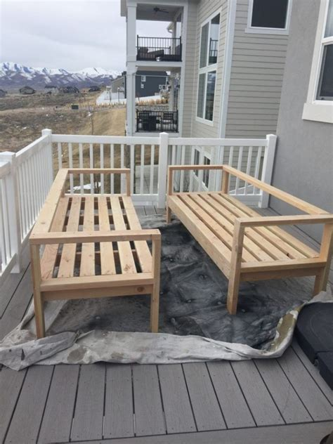 Build Your Own Garden Furniture