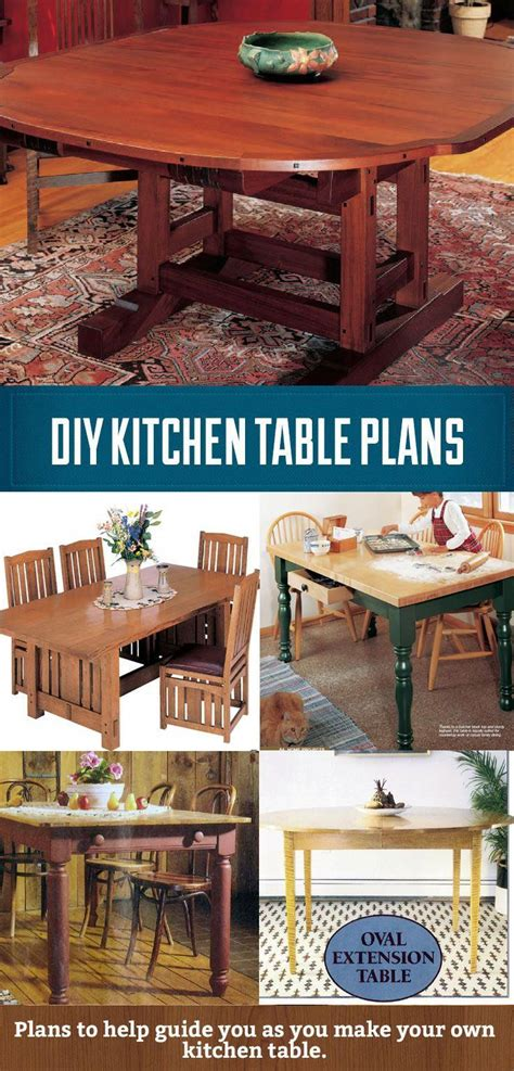 Build Your Own Kitchen Table Plans