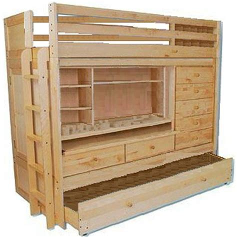 Build Your Own Loft Bed With Desk