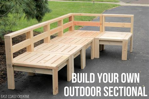 Build Your Own Outdoor Furniture Plans