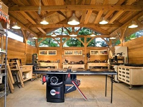 building a home woodworking shop