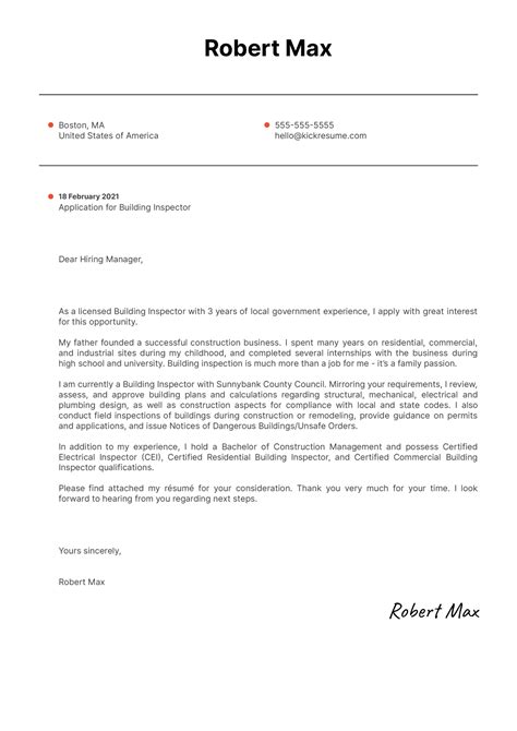 resume building inspector resume covering letter marketing manager - Building  Inspector Resume