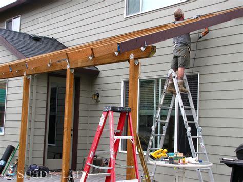 Building A Deck Roof