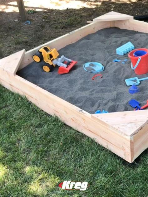 Building A Sandbox With Seats