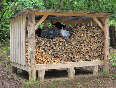 Building A Wood Shed For Firewood