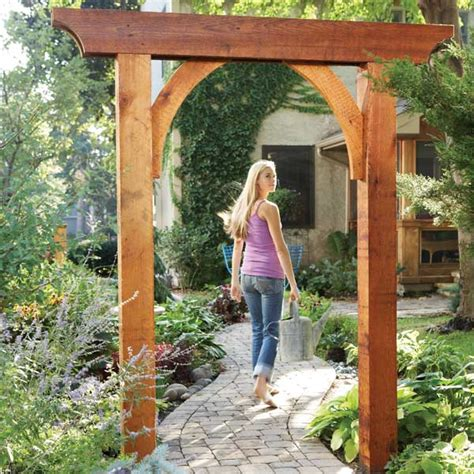 Building A Wooden Arch