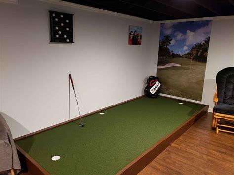 Building An Indoor Putting Green