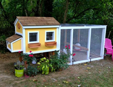 Building Plans For Chicken Houses
